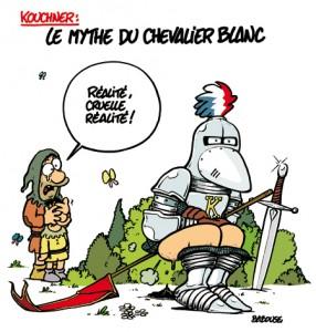 Kouchner, le mythe du chevalier blanc