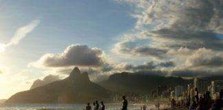 Rio de Janeiro. Plage d'Ipanema.