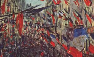 14-Juillet, Claude Monet.