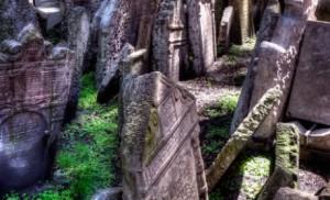 Prague, ancien cimetière juif