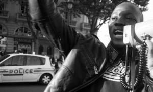 Manifestation de sans-papiers, Paris, 2007.