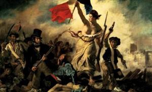 Eugène Delacroix, La Liberté guidant le peuple, 1830, musée du Louvre