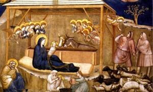 Giotto, Nativité.