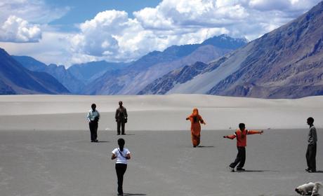 Himalaya : va encore falloir monter le chauffage !