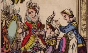 Cendrillon et ses soeurs, imagerie Pellerin, Epinal, XIXe siècle.