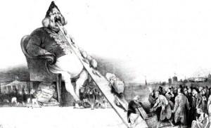 Du débat sur l'identité nationale : mangez-en ! Honoré Daumier, Gargantua.