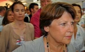 Martine Aubry, présidente de la..., pardon, première secrétaire du Parti socialiste.