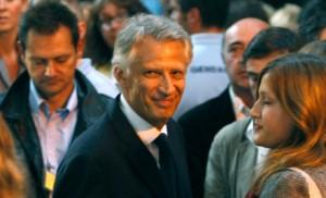 Dominique de Villepin revient.