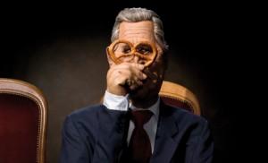 Les Guignols de l'Info, la marionnette de G.W. Bush.