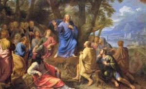 Philippe de Champaigne, Le sermon sur la montagne.
