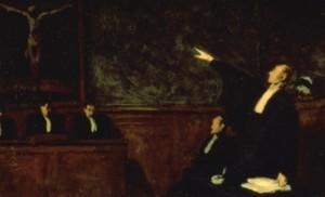 Honoré Daumier, Le Pardon, 1865-67