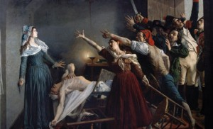 Jean-Joseph Weerts, Marat assassiné ! 13 juillet 1793, 8 h du soir, 1880