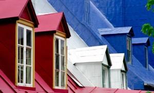 Toits à Québec (David Paul Ohmer, flickr.com).