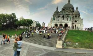 Rasons Montmartre, en cas de crue de la Seine.