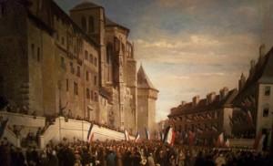 Rattachement de la Savoie à la France, en 1860, à Chambéry