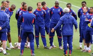 Les joueurs de l'Equipe de France de foot : ce sont des champions !
