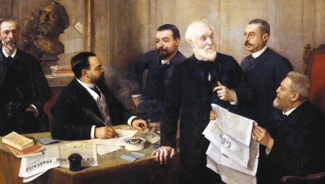 """Henri Gervex, À """"La République française"""", 1890"""
