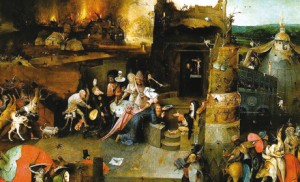 Bosch, La Tentation de saint Antoine