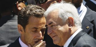 Nicolas Sarkozy et Dominique Strauss-Kahn