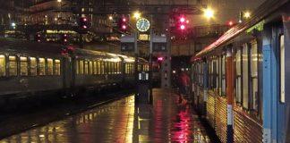 Paris, gare Saint-Lazare.