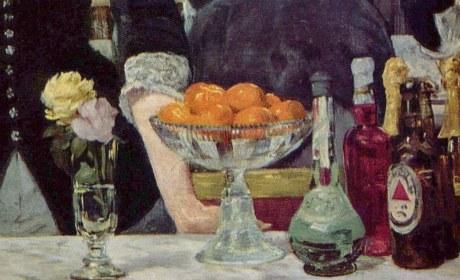 Les mandarines de Manet