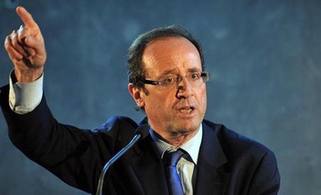 Sale temps pour Hollande