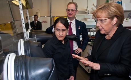 Pas de mark pour Merkel