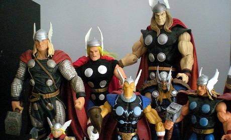 À Thor et à travers