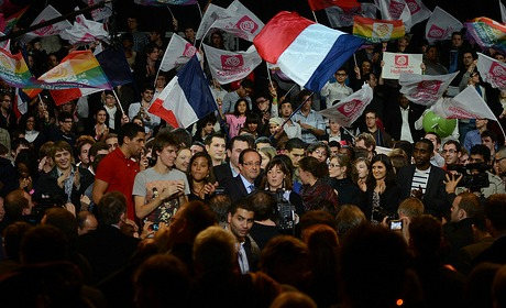 Opération recadrage chez Hollande