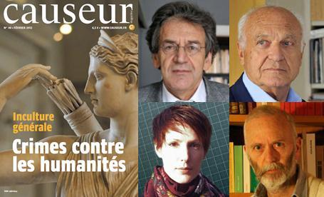 Causeur Magazine : Crimes contre les humanités