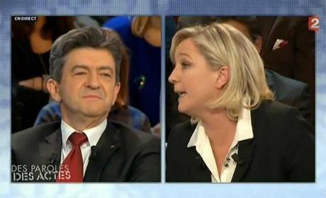 Mélenchon-Le Pen match nul, voire nullissime