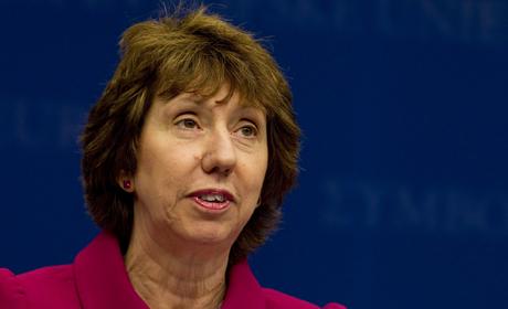 Catherine Ashton: la femme qui rit dans les cimetières
