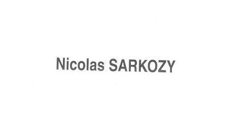 Pourquoi je vote Sarkozy