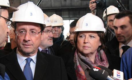 Martine Aubry, l'absente