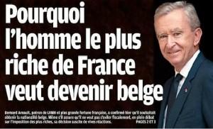 Bernard Arnault pose la question de l'assiette de l'impôt sur le revenu