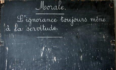 morale ecole peillon