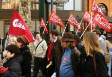 Contre le traité européen, le Front de Gauche manifeste