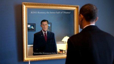 Obama Romney USA