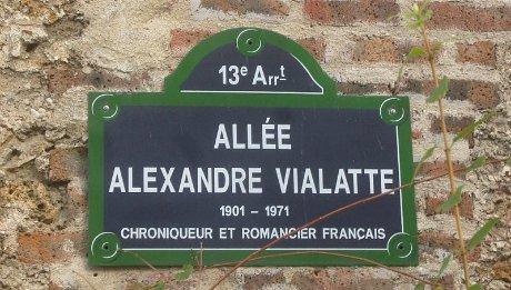 Alexandre Vialatte cri du canard bleu