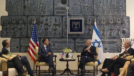Romney Netanyahou Israel Obama