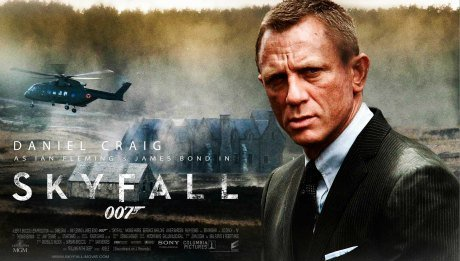 skyfall james bond craig