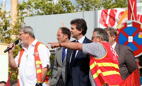 montebourg florange nationalisation