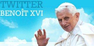 benoit XVI twitter pape