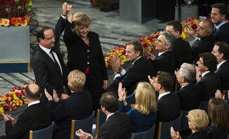 Gakuen Elysée Hollande-merkel-europe