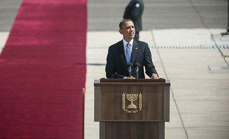obama israel abbas