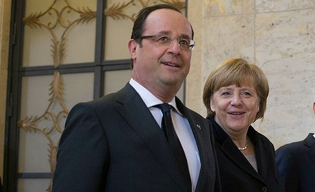 merkel ps hollande
