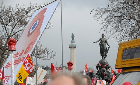 republique bastille melenchon