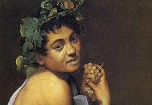 bacchus caravage vin