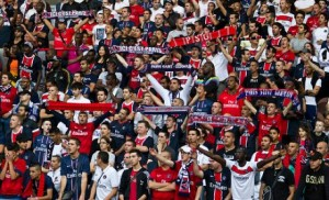supporters psg foot