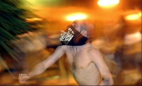 argentine emeute foulard